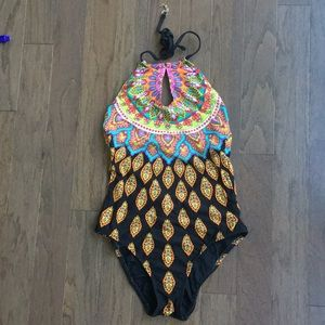 Trina Turk One Piece Bathing Suit.